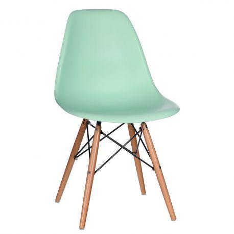 Set de 2 scaune design vintage Nordica aguamarina