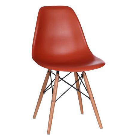 Set de 2 scaune design vintage Nordica orage