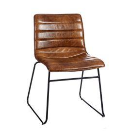 Set de 2 scaune stil clasic Phanuel maro