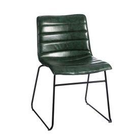 Set de 2 scaune stil clasic Phanuel verde