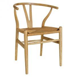 Set de 2 Scaune lemn design clasic Reinald natur - Evambient SX - Seturi scaune, HoReCa