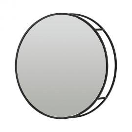 Oglinda cu rafturi design industrial, Olivia 60cm