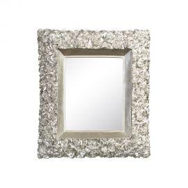 Oglinda de perete ROSAS 38x44cm, argintiu