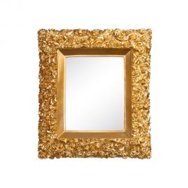 Oglinda de perete ROSAS 38x44cm, auriu