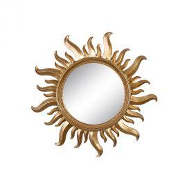 Oglinda de perete Sun 50cm, auriu