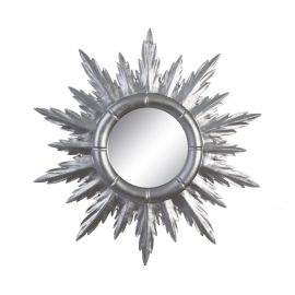 Oglinda de perete Allison 50cm, argintiu