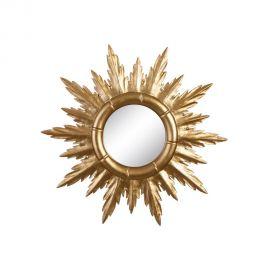 Oglinda de perete Allison 50cm, auriu