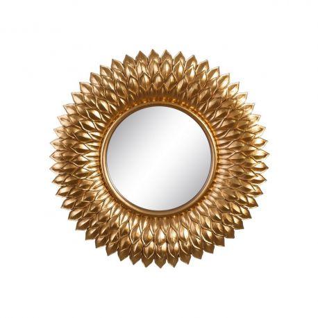 Oglinda de perete Aleta 50cm, auriu