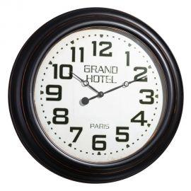 Ceas de perete Grand Hotel 77cm, negru
