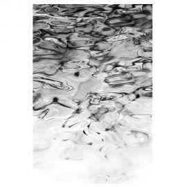 Tablou decorativ Alecia alb-negru, 120x180cm