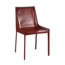 Set de 2 scaune design vintage Slavko I maroniu