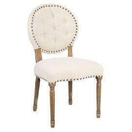 Set de 2 scaune elegante Arnulfo crem - Evambient DZ - Seturi scaune, HoReCa