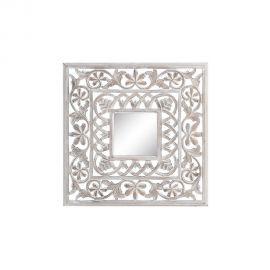 Oglinda decorativa Annis 60x60cm, alb - Evambient SX - Oglinzi