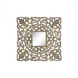 Oglinda decorativa Annis 60x60cm, auriu antic - Evambient SX - Oglinzi