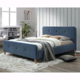 Pat MALMO 160X200 albastru