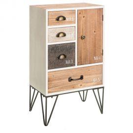 Comoda design industrial-vintage Natavia