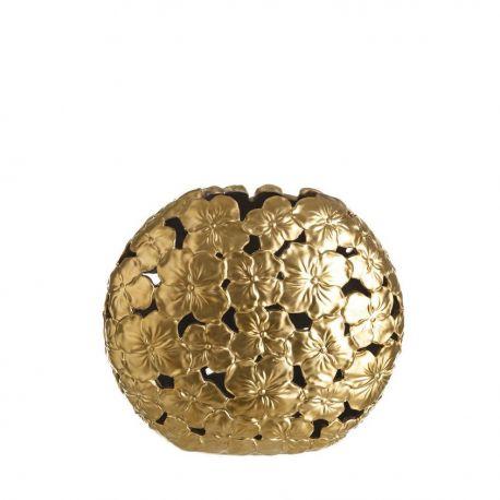Vas decorativ din ceramica Allie S auriu