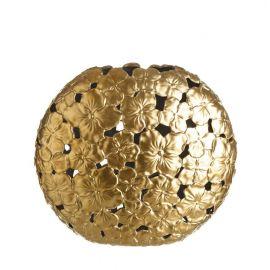 Vas decorativ din ceramica Allie L auriu