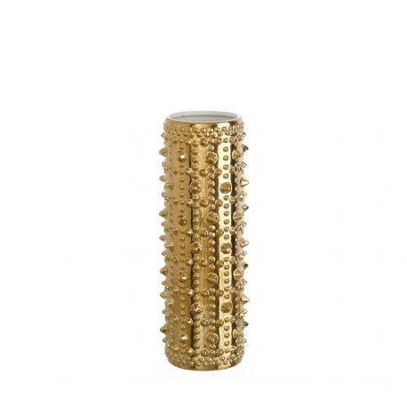 Vaza din ceramica Alma auriu 43cm - Evambient DZ - Vaze