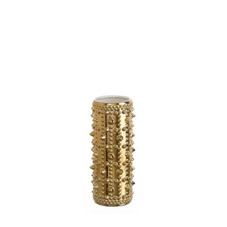 Vaza din ceramica Alma auriu 32cm - Evambient DZ - Vaze