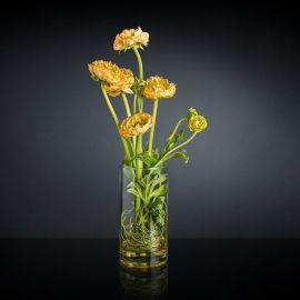 Aranjament floral RANUNCOLO portocaliu