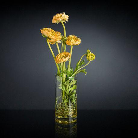 Aranjament floral RANUNCOLO portocaliu - Evambient VG - Aranjamente florale LUX