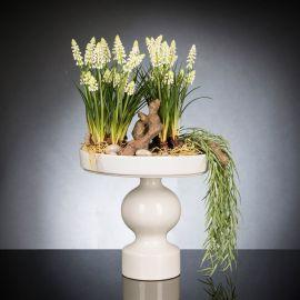 Aranjament floral LUX MUSCARI, 30x60cm