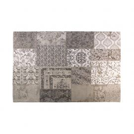 Covor SPIROS 160x230cm, patchwork gri - Evambient Barcelona Living - Covoare