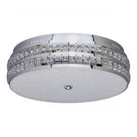 Lustra LED design modern City crom - Evambient MW - Lustre aplicate