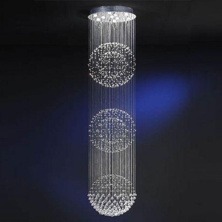 LUSTRA SUSPENDATA LED ESTRATOS - Evambient SV - Pendule, Lustre suspendate