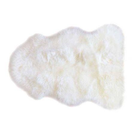 Covor din piele de oaie LW Premium 105cm Ivory