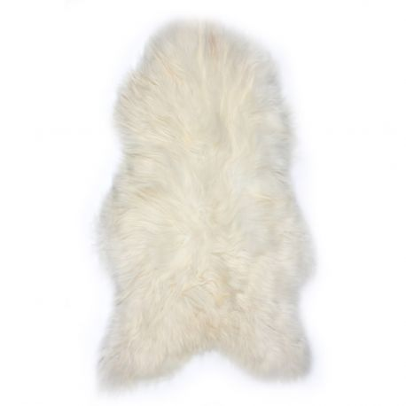 Covor din piele de oaie LW ICELAND 110cm Icelandic White - Evambient ASK - Blanuri naturale