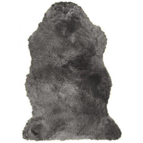 Covor din piele de oaie LW Budget 90cm Steel - Evambient ASK - Blanuri naturale