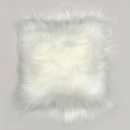 Perna din piele de oaie LW Iceland 35x35cm Icelandic White