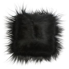 Perna cu piele de oaie LW Iceland 35x35cm Icelandic Black - Evambient ASK - Perne si fete de perne