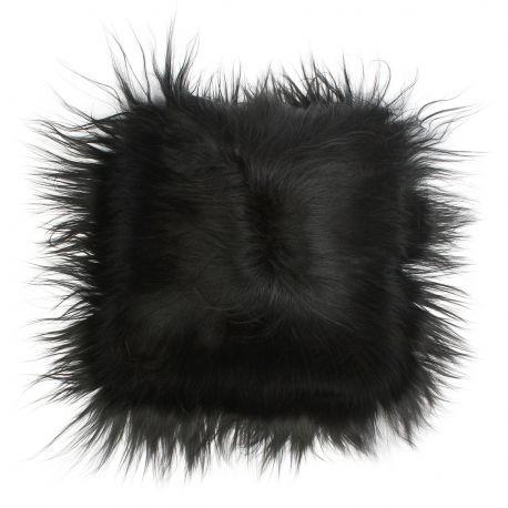 Perna cu piele de oaie LW Iceland 35x35cm Icelandic Black