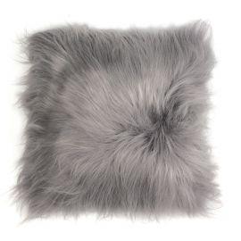 Perna cu piele de oaie LW Iceland 35x35cm Icelandic Silver - Evambient ASK - Perne si fete de perne