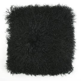 Perna cu piele de oaie LW Tibetan 50x50cm Velvet Black