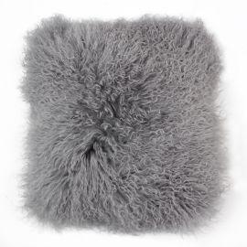 Perna cu piele de oaie LW Tibetan 50x50cm Velvet Dove