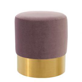 Taburete design LUX Pall Mall violet - Eichholtz - Banchete-Tabureti
