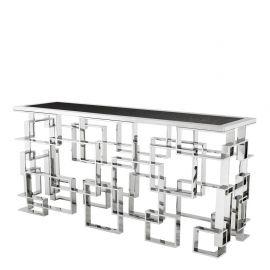 Consola design LUX Spectre argintiu