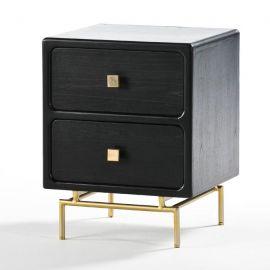 Noptiera design elegant neagra Blake - Evambient TN - Noptiere