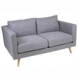 Canapea 2 locuri Tenas gri