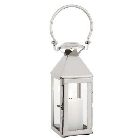 Suport lumanare design LUX Vanini XS, nickel - Eichholtz - Parfumuri de camera, Idei cadouri, Obiecte decorative
