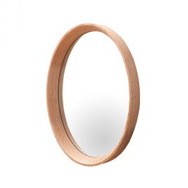 Oglinda de perete ovala Oak 33x43cm