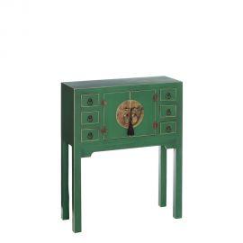 Consola ORIENT, 2 usi verde