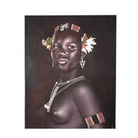Tablou Negra Semidesnuda, 120x150cm