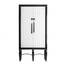 Dulap design modern GAETA, alb/ negru