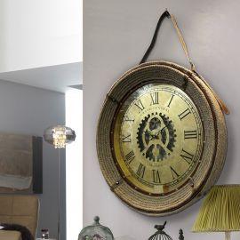 Ceas decorativ design vintage Brighton Ø76 - Evambient SV - Decoratiuni perete