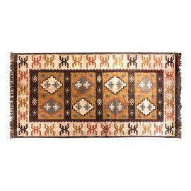 Covor stil colonial din iuta si lana SHARIK, 320x210cm